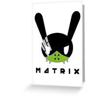 BAP MATRIX Dada Mato Greeting Card