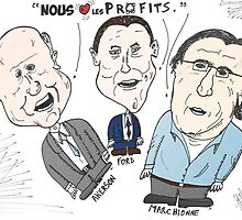 Caricature des chefs des grandes compagnies de voitures by Binary-Options