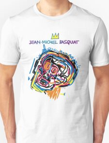 Jean Michel Basquiat Head Version 2 T-Shirt