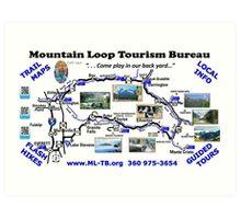 Mountain Loop Tourism Bureau Art Print