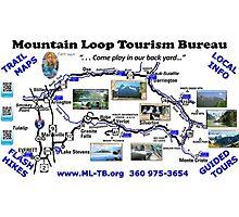 Mountain Loop Tourism Bureau Photographic Print