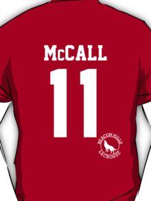 "Teen Wolf ""McCALL 11"" Lacrosse T-Shirt"