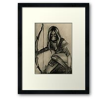 Xena Framed Print