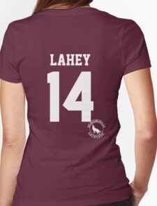 """Teen Wolf - ISAAC """"LAHEY 14"""" Lacrosse Womens Fitted T-Shirt"""