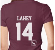 "Teen Wolf - ISAAC ""LAHEY 14"" Lacrosse Womens Fitted T-Shirt"