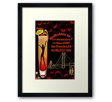 ❀◕‿◕❀ SF1 Poster Challenge - SAN FRANCISCO  GATHERS CHEERS ~ By Rapture777❀◕‿◕❀ Framed Print