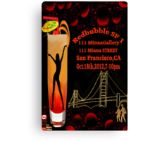 ❀◕‿◕❀ SF1 Poster Challenge - SAN FRANCISCO  GATHERS CHEERS ~ By Rapture777❀◕‿◕❀ Canvas Print