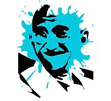 Gandhi Splat Stencil Photographic Print