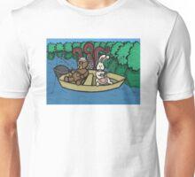 Teddy Bear And Bunny - Ignorance Is Bliss Unisex T-Shirt