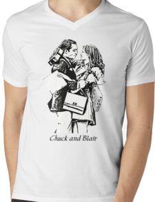 Chuck and Blair - I love you Mens V-Neck T-Shirt