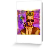 Les Corsets Greeting Card
