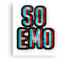 So Emo Canvas Print