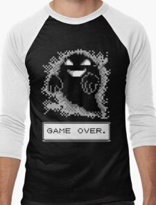 Ghost Used Curse! GAME OVER Men's Baseball ¾ T-Shirt