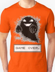 Ghost Used Curse! GAME OVER Unisex T-Shirt