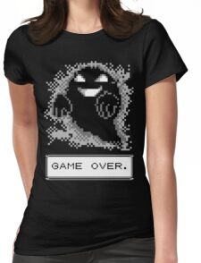 Ghost Used Curse! GAME OVER Womens Fitted T-Shirt