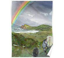 Bruny Island Rainbow Poster