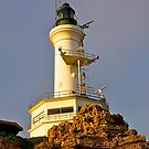 Lighthouse, Point Lonsdale, Victoria, Australia. by johnrf