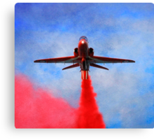 """Red Arrow"" Canvas Print"