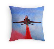 """Red Arrow"" Throw Pillow"