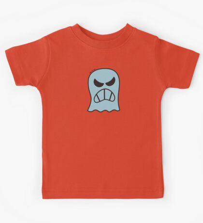 Angry Halloween Ghost Kids Tee