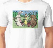 Teddy Bear and Bunny - Hidden Treasures Unisex T-Shirt