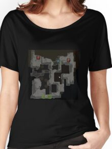 CSGO Dust 2 Map Women's Relaxed Fit T-Shirt