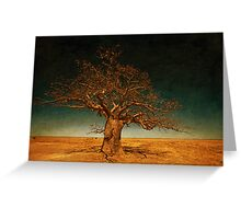 The Dinner Tree Greeting Card