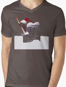 Silent Night... Mens V-Neck T-Shirt