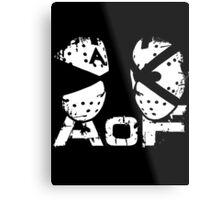 Art Of Fighters Logo Metal Print