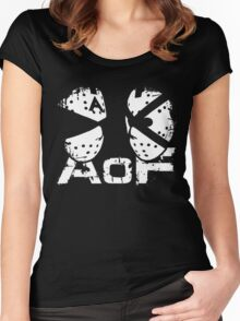 Art Of Fighters Logo Women's Fitted Scoop T-Shirt