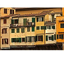Tuscan Shutters Photographic Print