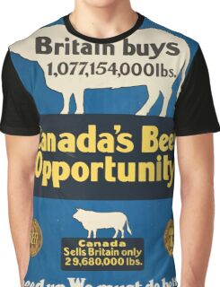 Canadas beef opportunity Graphic T-Shirt