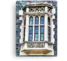 The Heritage Windows of the Teachers' College Canvas Print