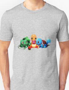 Pokemon Starter Play Game T-Shirt