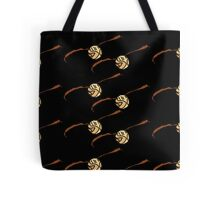 I Open At The Close Golden Pixel Snitch Tote Bag