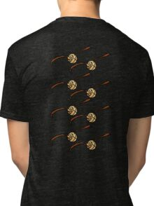 I Open At The Close Golden Pixel Snitch Tri-blend T-Shirt