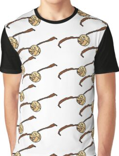 I Open At The Close Golden Pixel Snitch Graphic T-Shirt