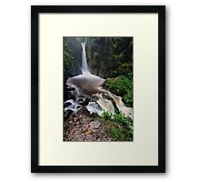 Stanley Ghyll Force Framed Print