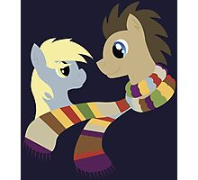 My Little Pony: Friendship is Magic - Dr Hooves and Derpy Hooves Photographic Print