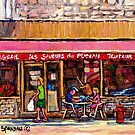 LUNCH AT THE PATISSERIE PARIS STYLE CAFE MONTREAL by Carole  Spandau