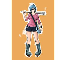 "Ramona Flowers - ""+1 Against Blondes"" Photographic Print"