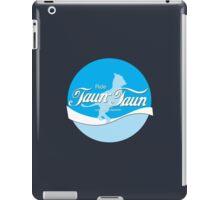 Ride TaunTaun iPad Case/Skin