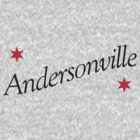 Andersonville Neighborhood Tee by Chicago Tee
