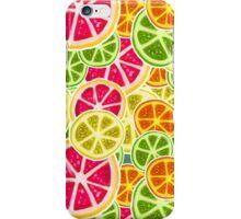 Citrus Fruit Slices Pattern iPhone Case/Skin