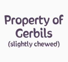 Property of Gerbils - Slightly Chewed Kids Clothes