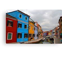 """""""Colours"""" Canvas Print"""