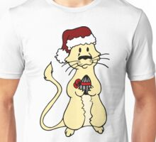 Gerbil Christmas Unisex T-Shirt