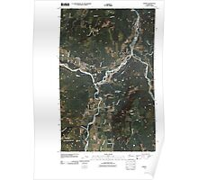 USGS Topo Map Washington State WA Deming 20110504 TM Poster