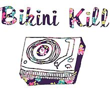 Floral Bikini Kill Design by SailorMeg
