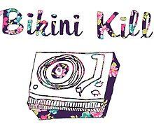 Floral Bikini Kill Design by SailorMeg
